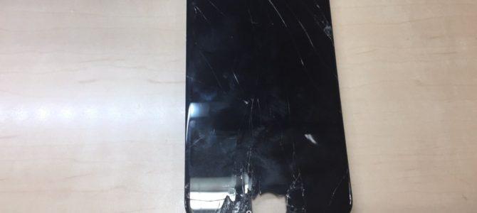 iPhone6s+フロントパネル交換修理 恵庭市より『割れたまま使ってた』