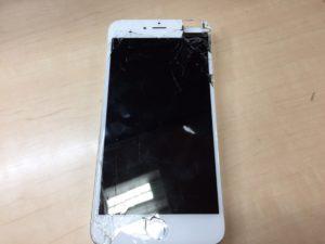 iPhone6+液晶修理前0117
