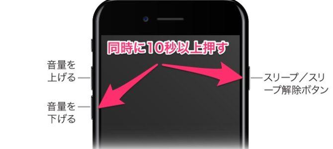 iPhone7を再起動させる方法!【iOS10最新版】
